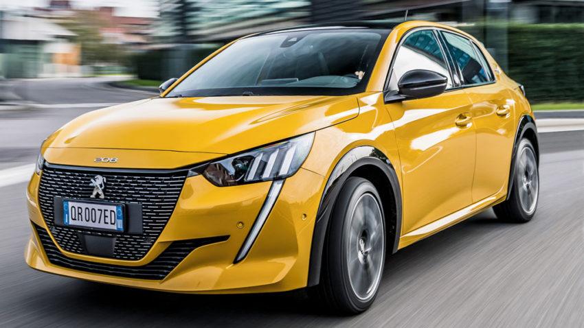 Com o 208, Peugeot lança versão elétrica do hatch