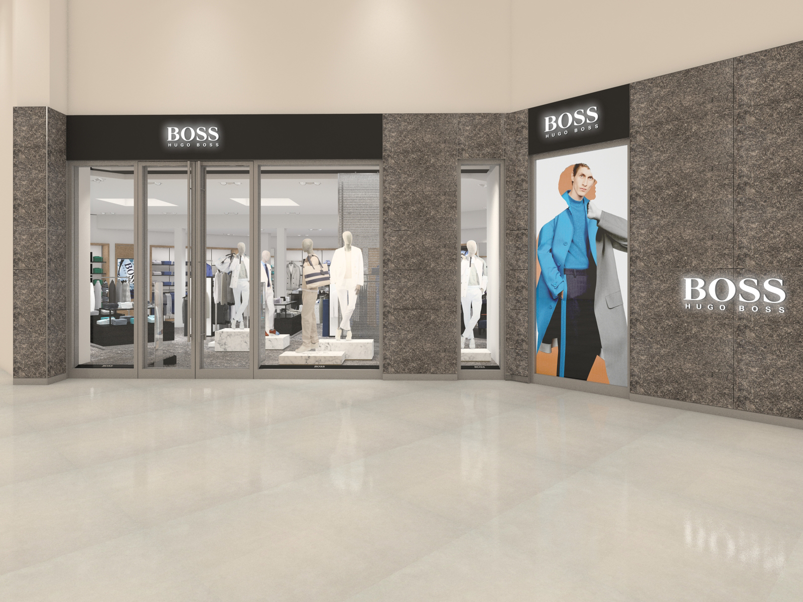 Iguatemi São Paulo recebe nova loja conceito da Hugo Boss