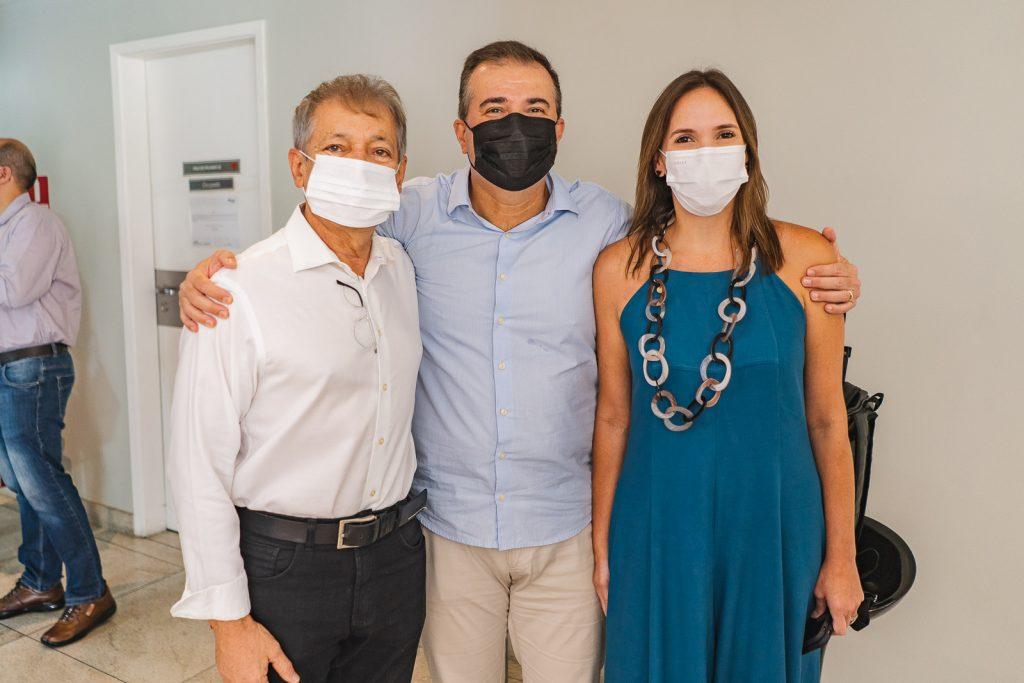 Otacilio Valente, Ricardo Bezerra E Renata Santos