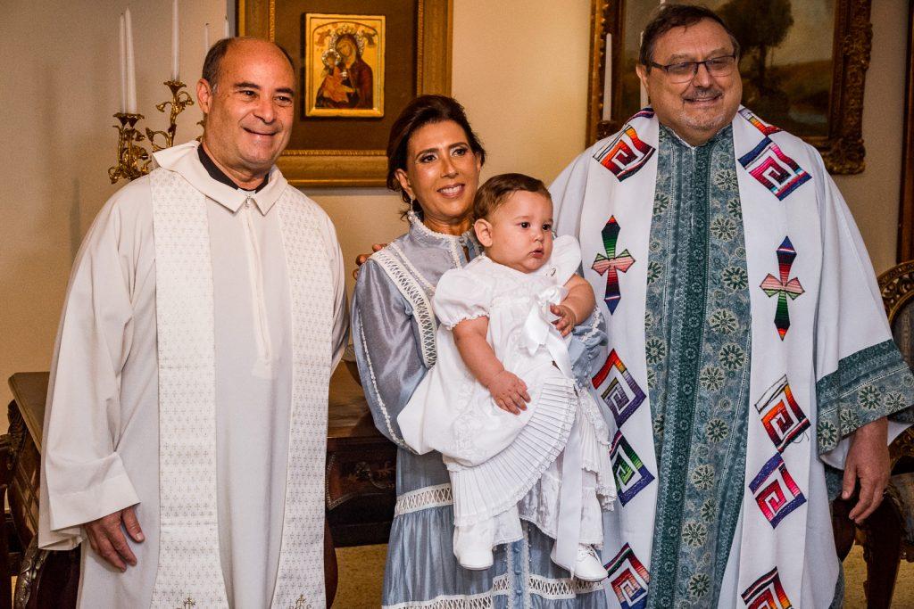 Padre Francisco Almeida, Regina Dias Branco, Emanuel Dias Branco E Padre Rino