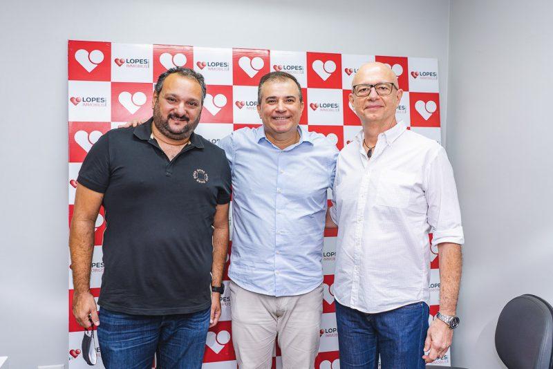 Patriolino Dias, Ricardo Bezerra E Demetrio Jereissati