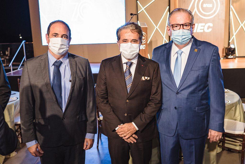 Paulo Andre Holanda, Ivan Bezerra E Ricardo Cavalcante