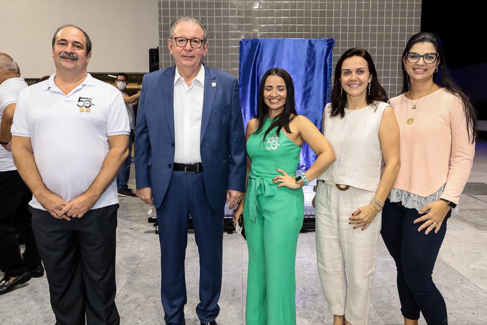 Paulo Andre Holanda, Ricardo Cavalcante, Dana Nunes, Veridiana Soares E Karina Frota