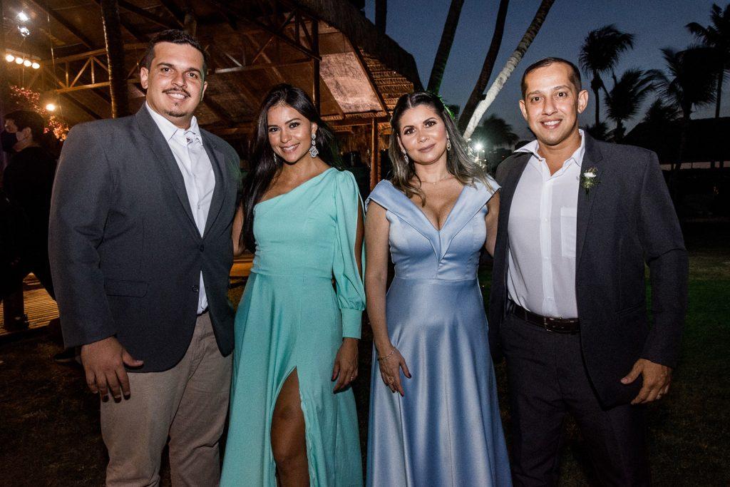 Paulo Diniz, Arellys Diniz, Carolina Diniz E Breno Diniz