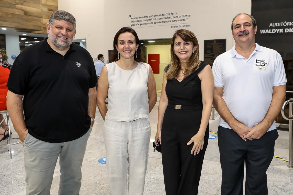 Paulo Nobrega, Veridiana Soares, Paula Angela E Paulo Andre Holanda