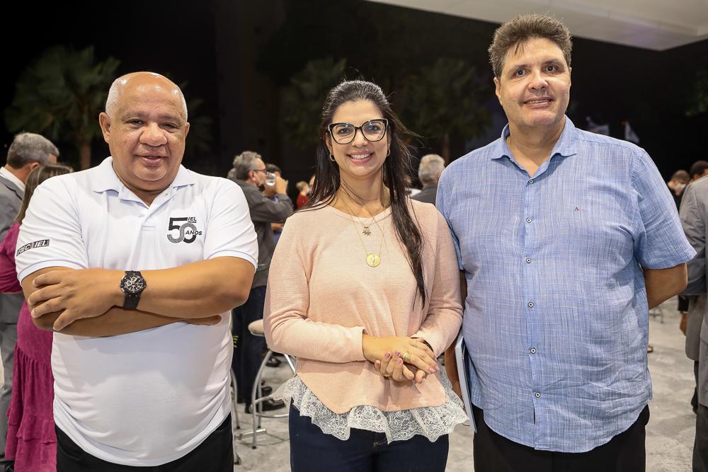 Pedro Alfredo, Karina Frota E Marcos Oliveira