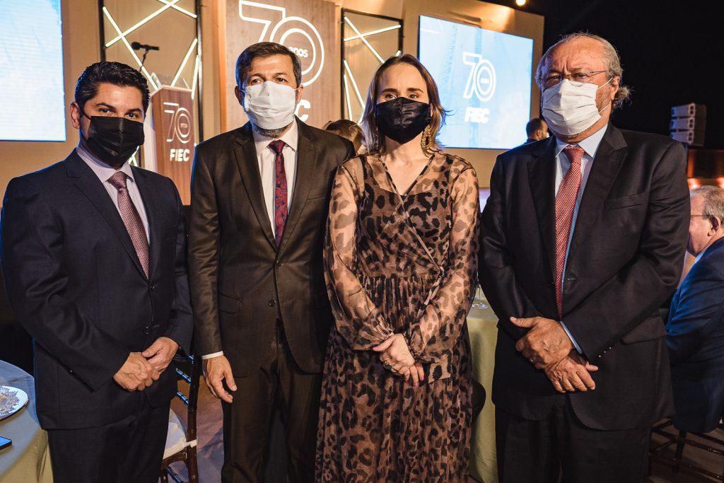 Pompeu Vasconcelos, Elcio Batista, Fernanda Pacobahyba E Candido Albuquerque