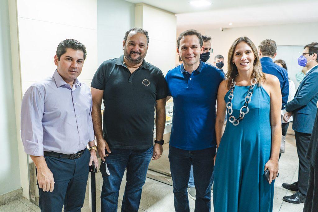 Pompeu Vasconcelos, Patriolino Dias, Fabio Albuquerque E Renata Santos