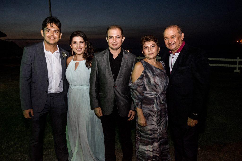 Rafael Ribeiro, Iara Luna, Jorge Luiz, Joana Diniz E Jorge Luiz