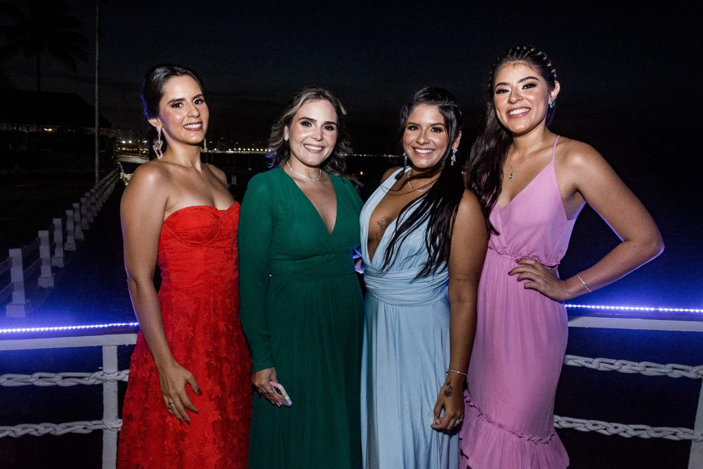 Rafaela Leite, Gisele Severiano, Gabriele Severiano E Rayssa Leite