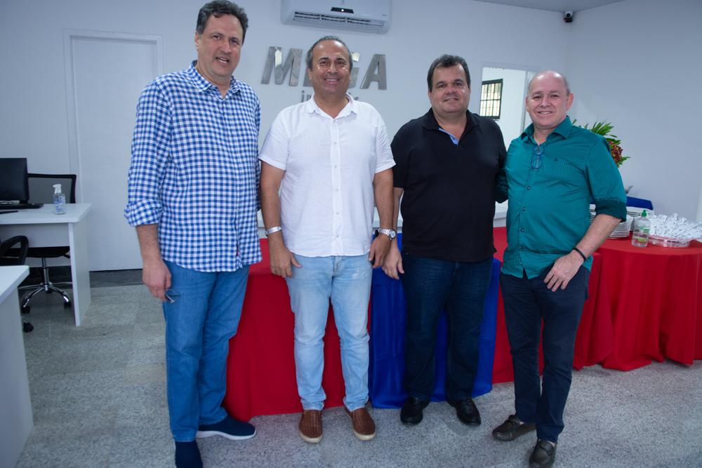 Ricardo Lopes, Segio Miranda, Rene Freire Júnior E Carlos Bezerra
