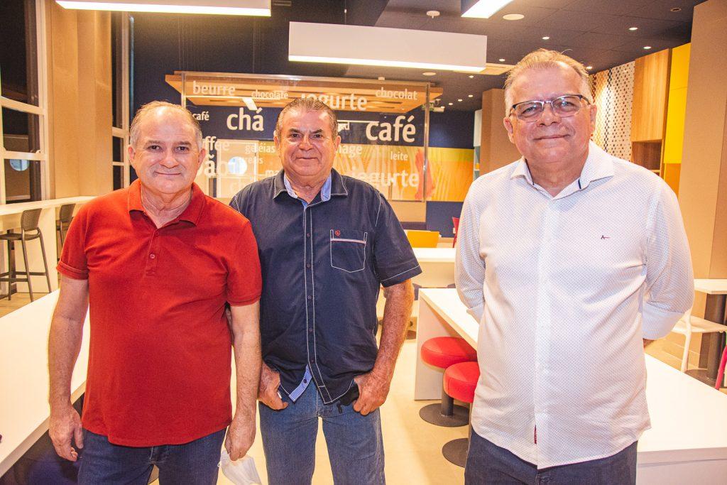 Rogerio Prado, Antonio Aguiar E Rogerio Facanha