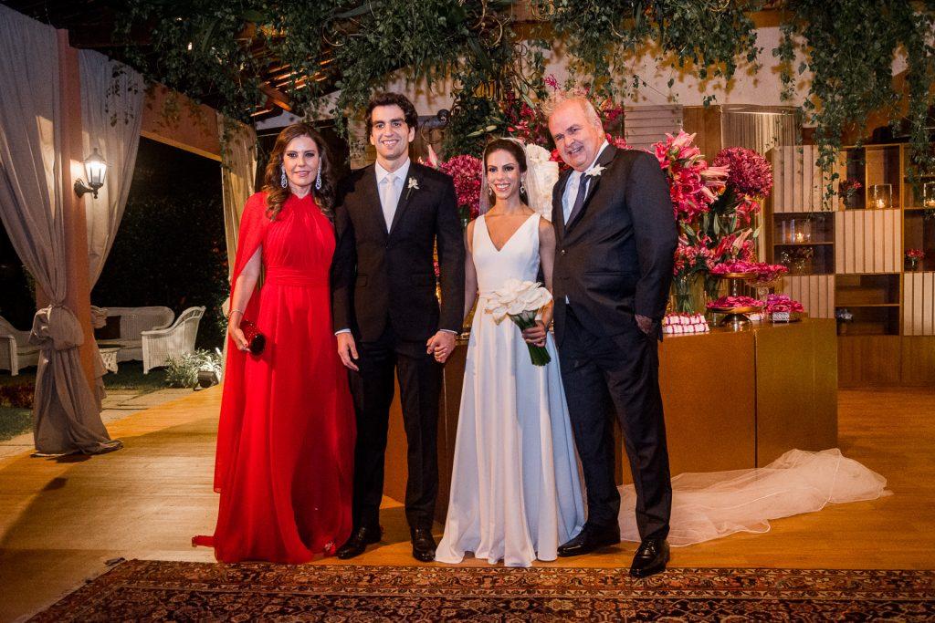 Rosely Nogueira, Raphael Nogueira, Manuela Rolim E Aroldo Nogueira