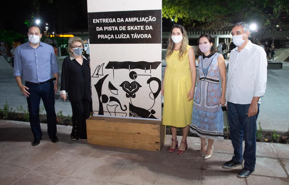 Sandro Camilo, Socorro França, Onélia Santana, Patrícia Liebmann, Francisco Ibiapina