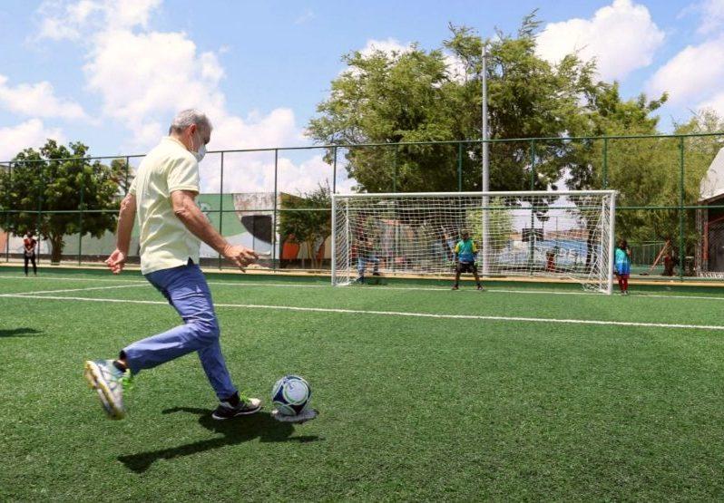 Prefeitura de Fortaleza inaugura a sua 80ª Areninha para estimular o esporte