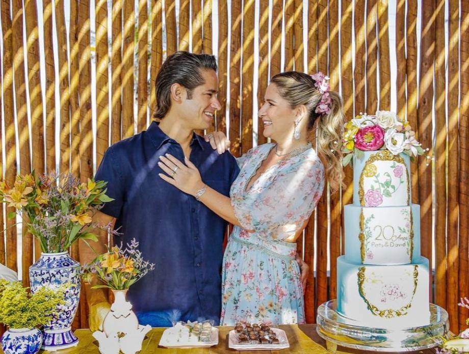 David e Patriciana Rodrigues armam um festão para celebrar seus 20 anos de casados