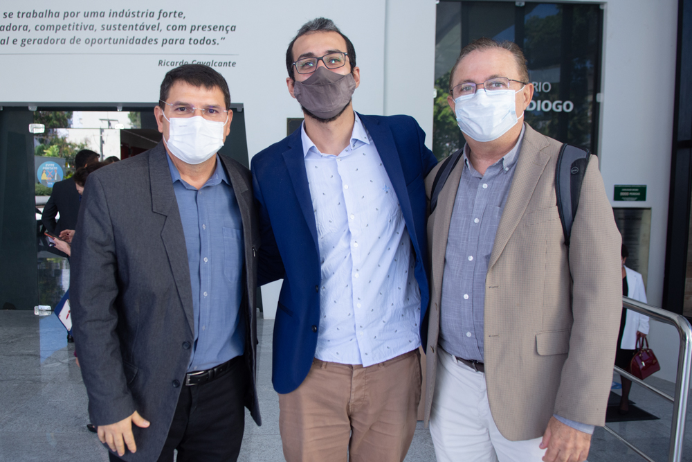 Sérgio Lopes, Guilherme Muchale E Joaquim Rolim