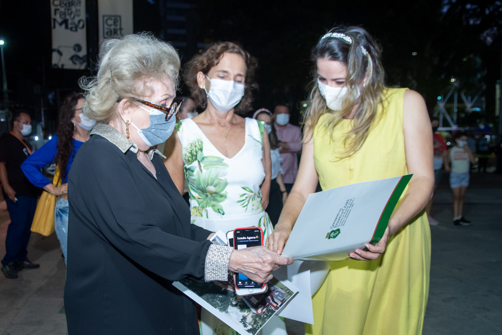 Socorro França, Izolda Cela E Onélia Santana