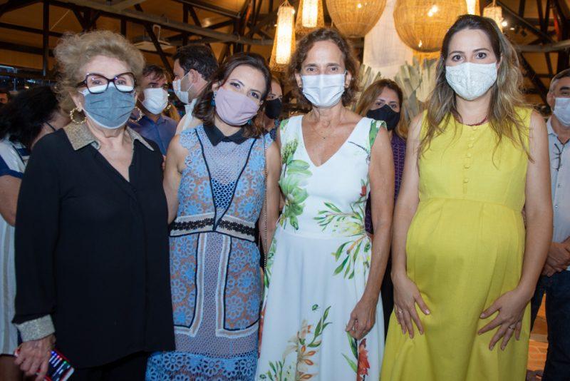Socorro França, Patrícia Liebmann, Izolda Cela E Onélia Santana (1)