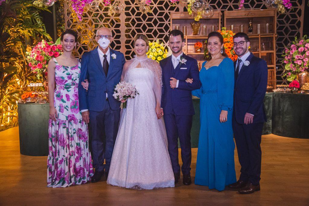 Victoria Lacerda, Cicero Cacimiro, Emanuella Lacerda, Waldemir Feitosa, Cely Sobreira E Ricardo Madeiro Filho