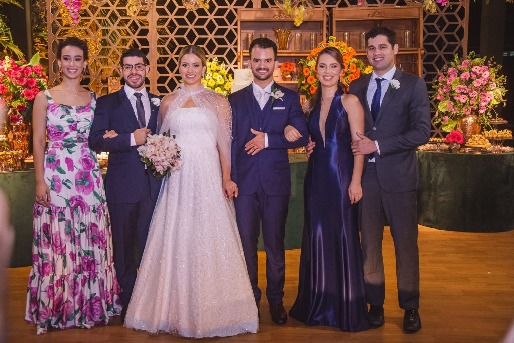 Victoria Lacerda, Ricardo Madeiro Filho, Emanuella Lacerda, Waldemir Feitosa, Misraele Coutinho E Vitor Coutinho