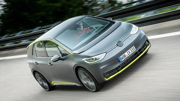Elétrico da Volkswagen é mais rápido que Golf R