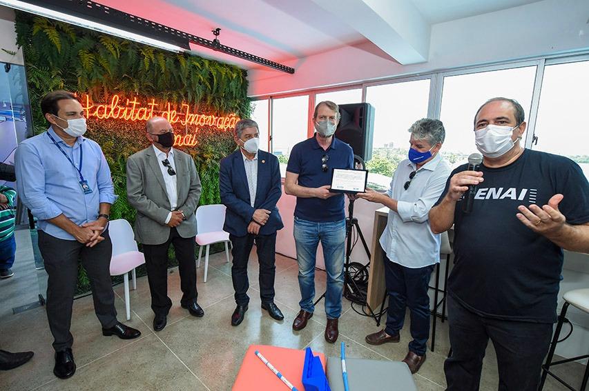 SENAI Ceará inaugura oficialmente seu Habitat de Inovação