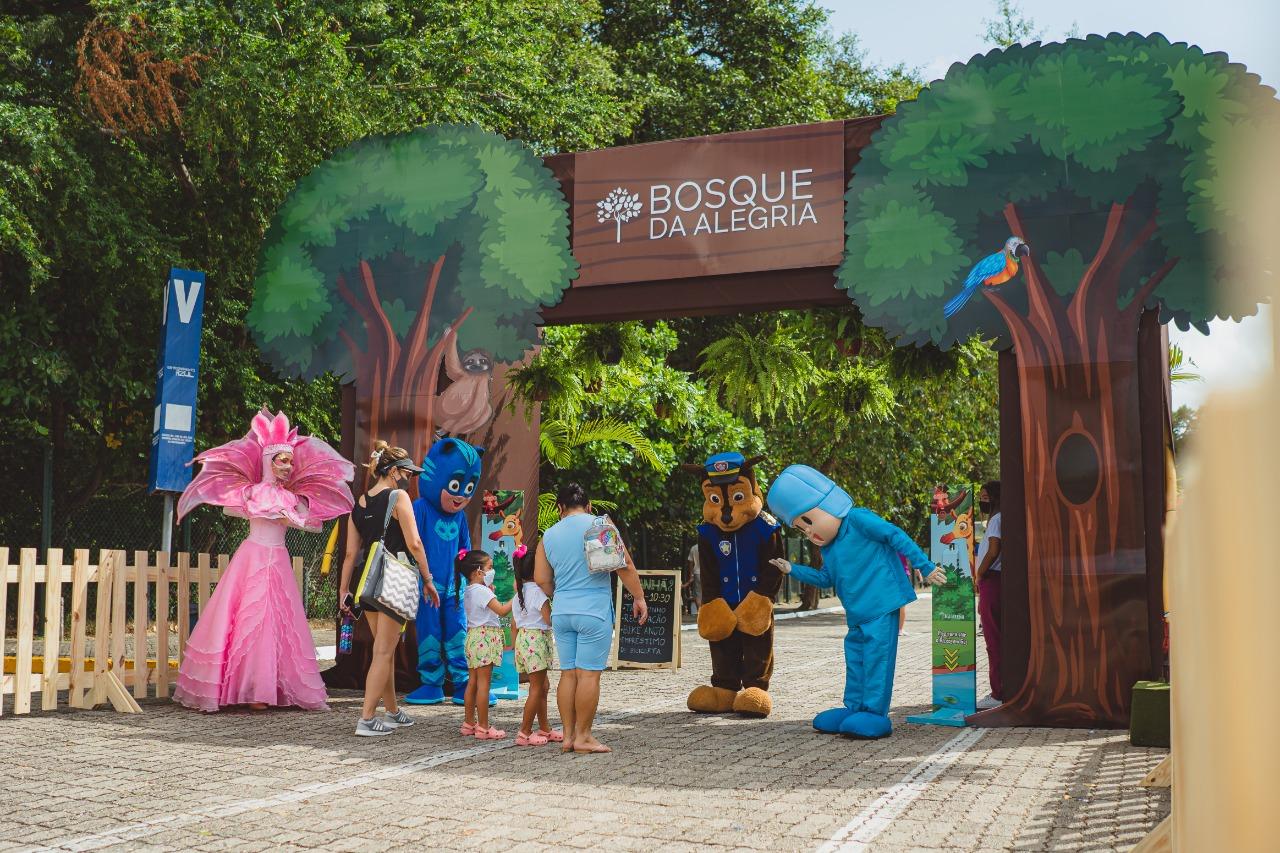 Iguatemi Fortaleza oferece espaço de lazer com recreação e atividades gratuitas ao ar livre