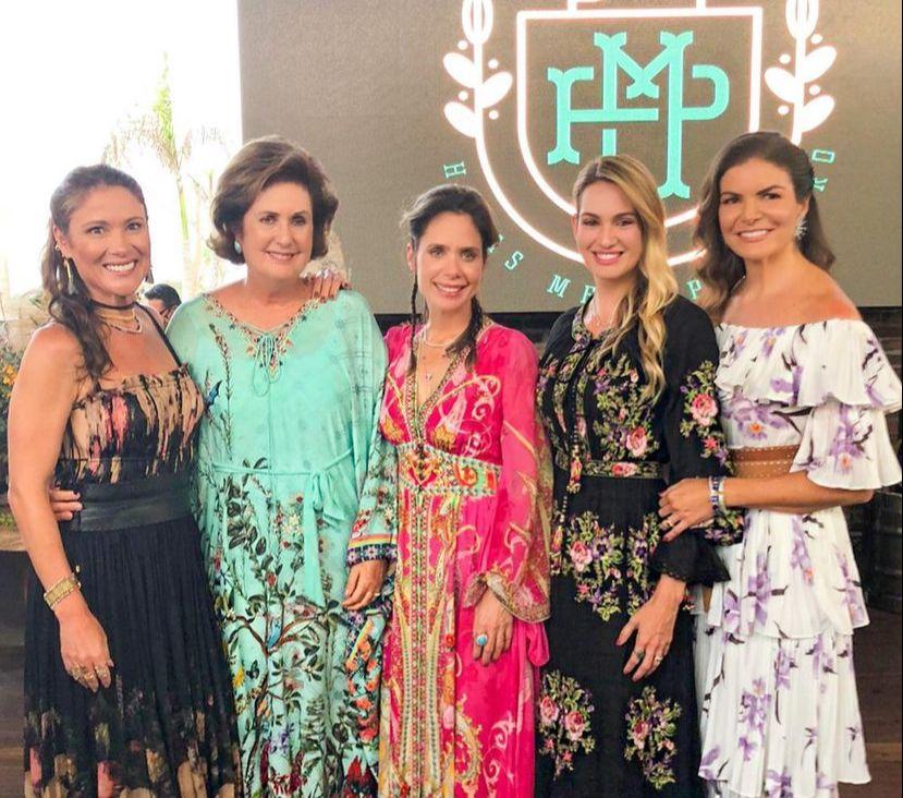 Lina Pinheiro reúne uma turma das boas e brinda a nova idade no Haras Melo Pinheiro