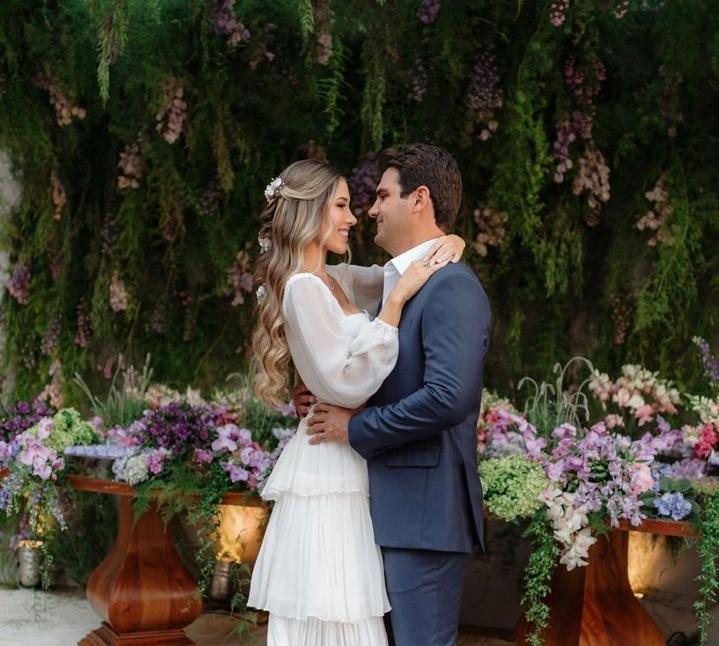 Ana Vitória Machado e Francisco Feitosa oficializam noivado em Belo Horizonte