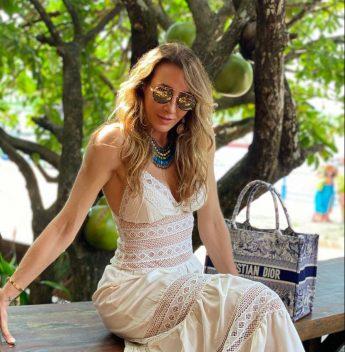 Melaine Fernandes curte as belezas de Santarém, no Pará