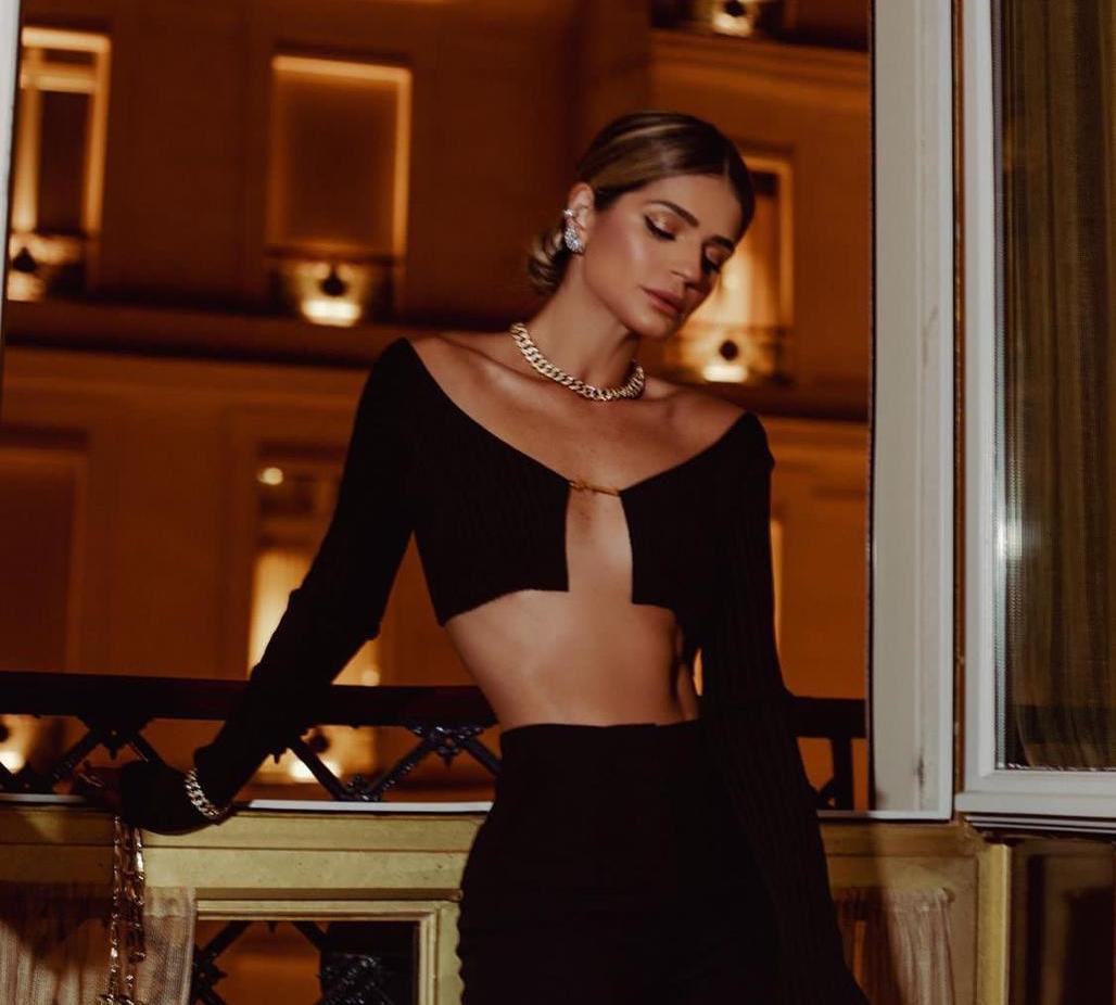 Thássia Naves brilha com joias da Diamond Design na Semana de Moda de Paris