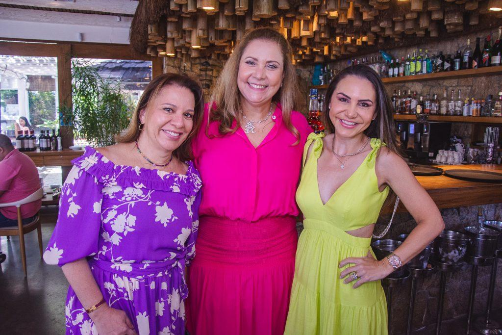Zelia Gadelha, Andrea Delfino E Adriana Queiroz