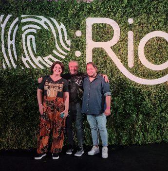 Em Niterói, Cláudio Silveira comemora sucesso do Festival ID:Rio