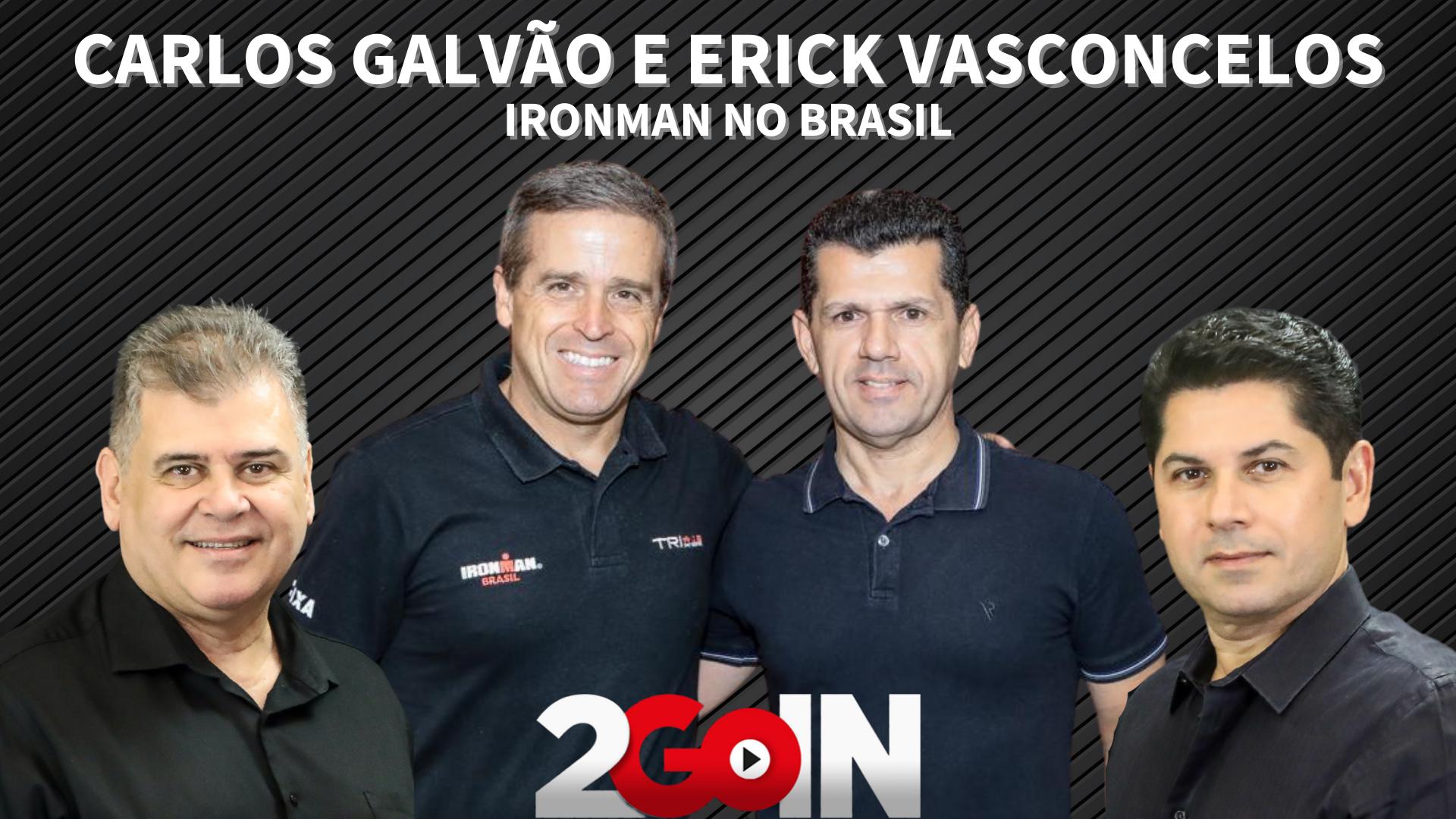 Carlos Galvão e Erick Vasconcelos falam de desafios e superação no Ironman