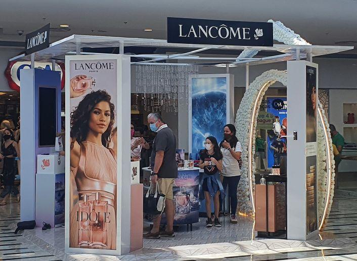 Lancôme lança pop-ups com experiências exclusivas no Rio de Janeiro e em São Paulo