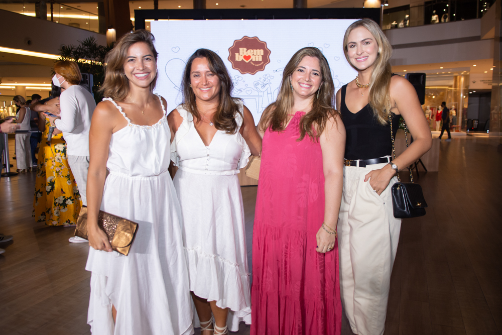 Afra Bellucci, Juliana Mota, Patricia Lavor E Fernanda Dourado