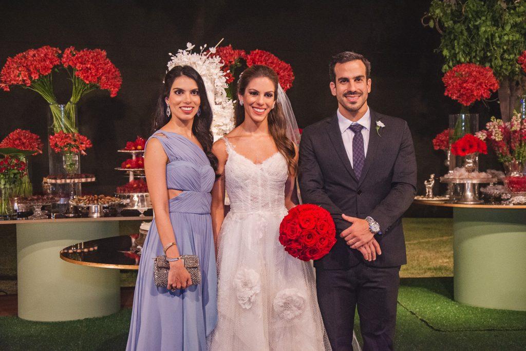 Alessandra, Manuela E Sergio Rolim