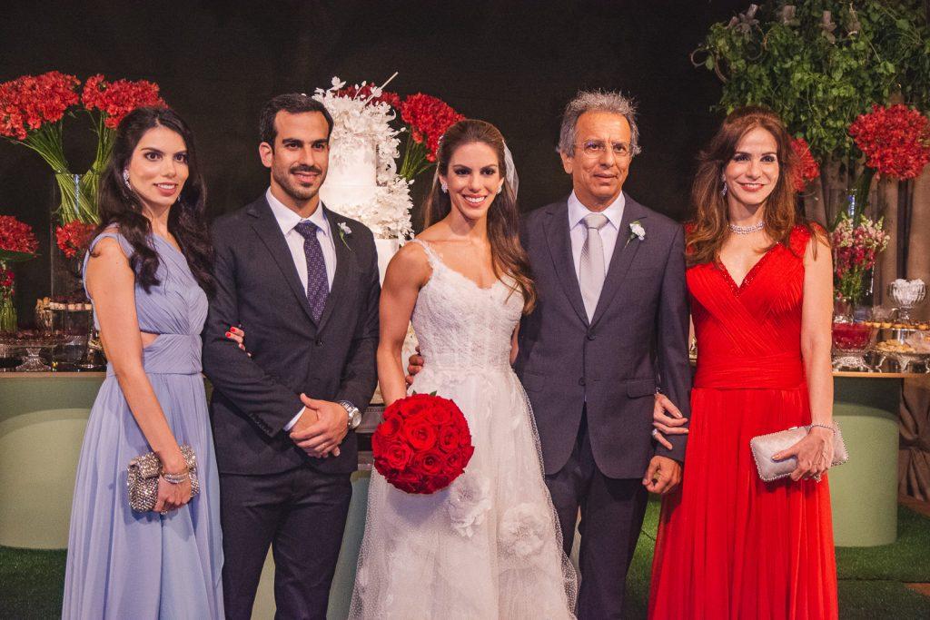Alessandra, Sergio, Manuela, Eduardo E Sandra Rolim