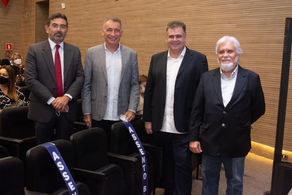 Alexandre Pereira, Artur Bruno, Marcos Gomide E Joaquim Cartaxo