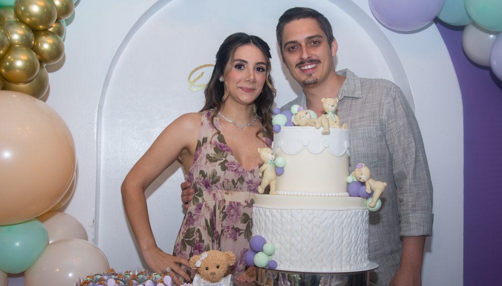 Amanda Freire e Hugo Alencar estão a espera da primeira herdeira
