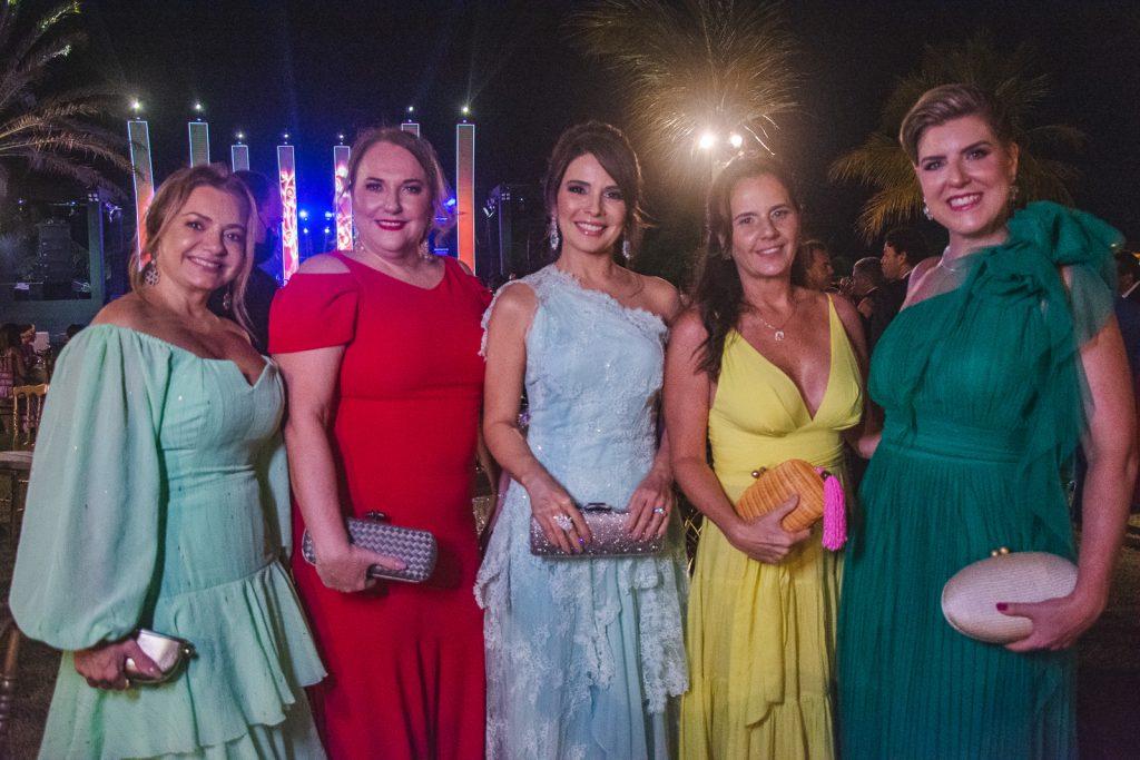 Ana Cristiana Camelo, Luiziane Cavalcante, Eveline Fujita, Patricia Franca E Karla Pereira
