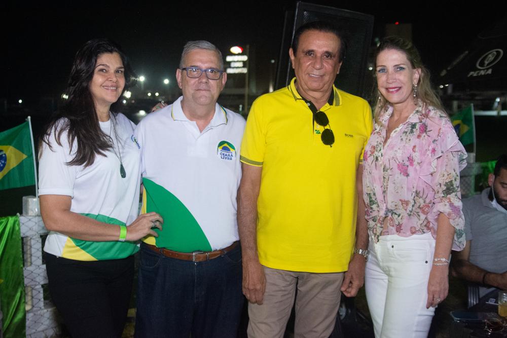 Ana Martins, Paulo De Tarso, Gaudencio Lucena E Marjorie Marshall