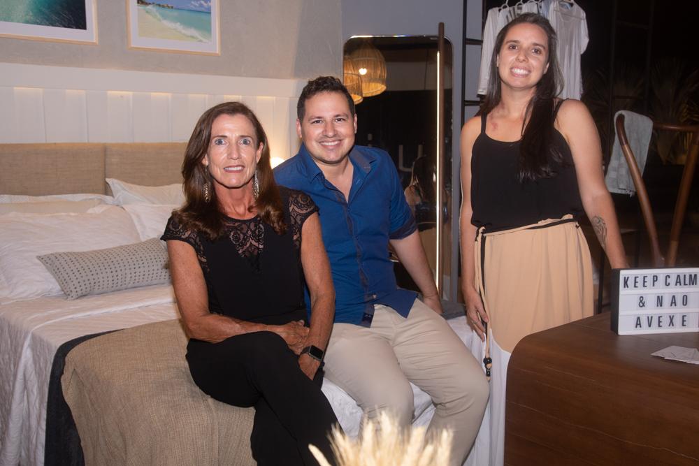 Ana Paula Sabóia, Artur Linhares E Ana Alice Moura