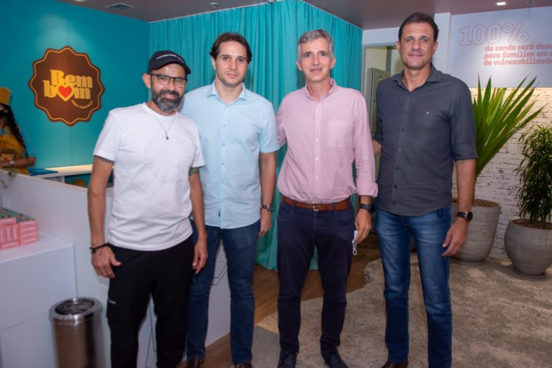 André Mota, Benjamin Oliveira, Bernardo Legey E Wellington Oliveira