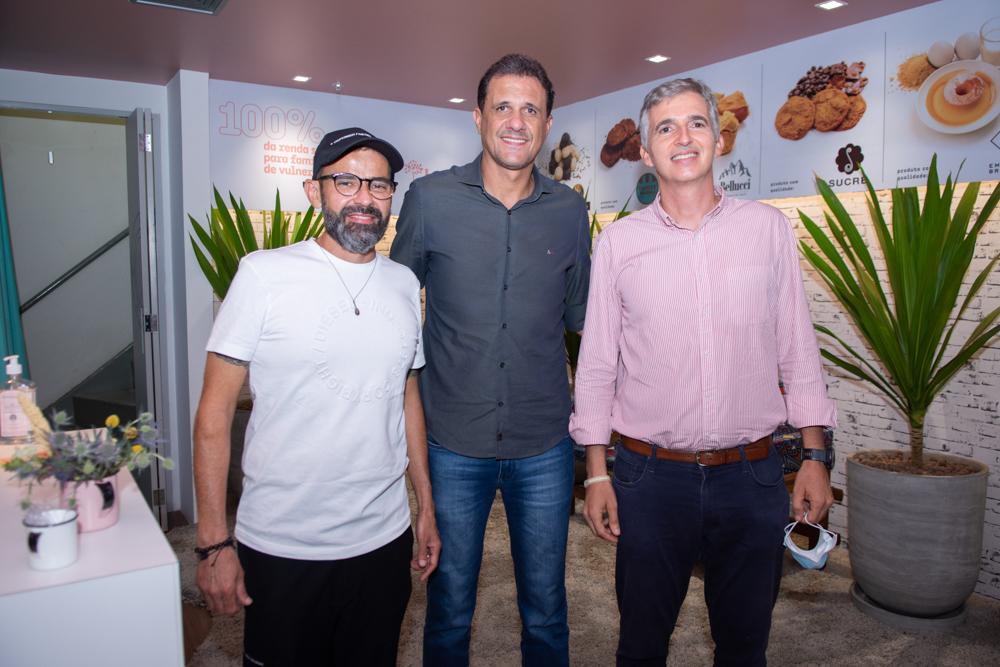 André Mota, Wellington Oliveira E Bernardo Legey