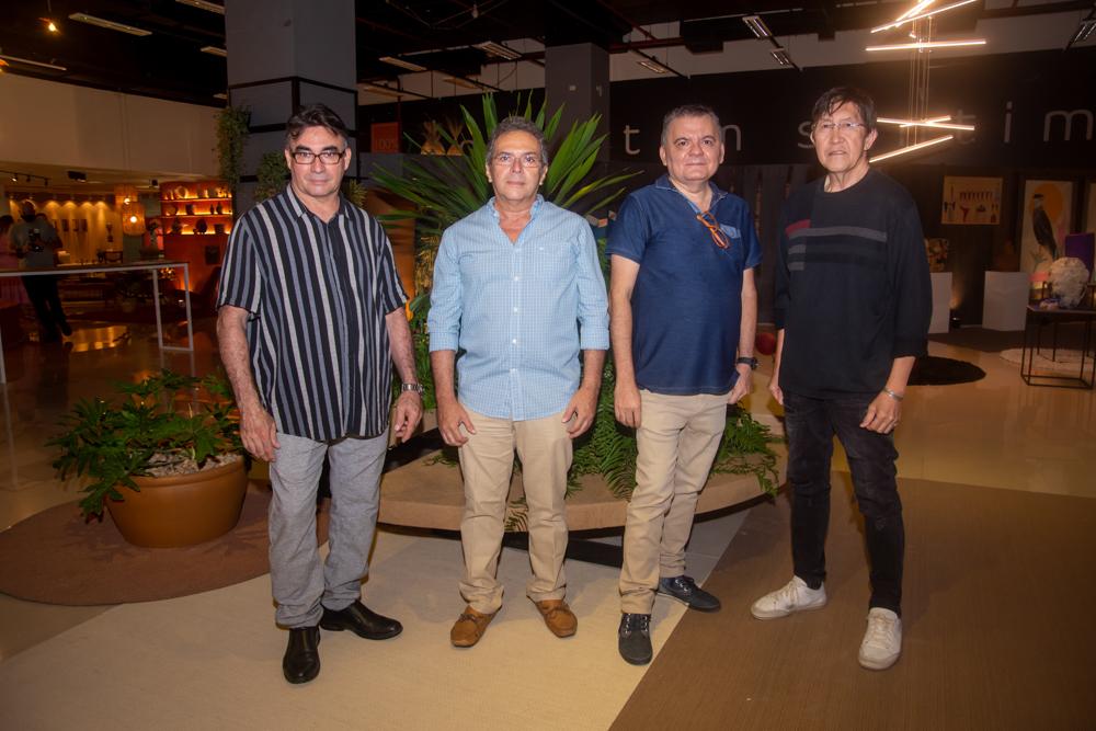 Antônio Rocha, Bosco Feitosa, Omar De Albuquerque E Eduardo Pilande