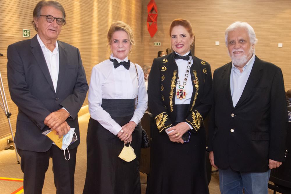 Arialdo Pinho, Enya Ribeiro, Enid Câmara E Joaquim Cartaxo