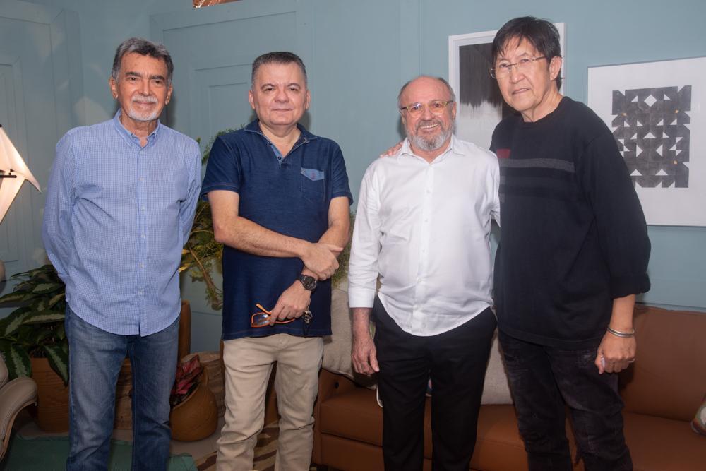 Ascal, Omar De Albuquerque, Vando Figueiredo E Eduardo Pilande