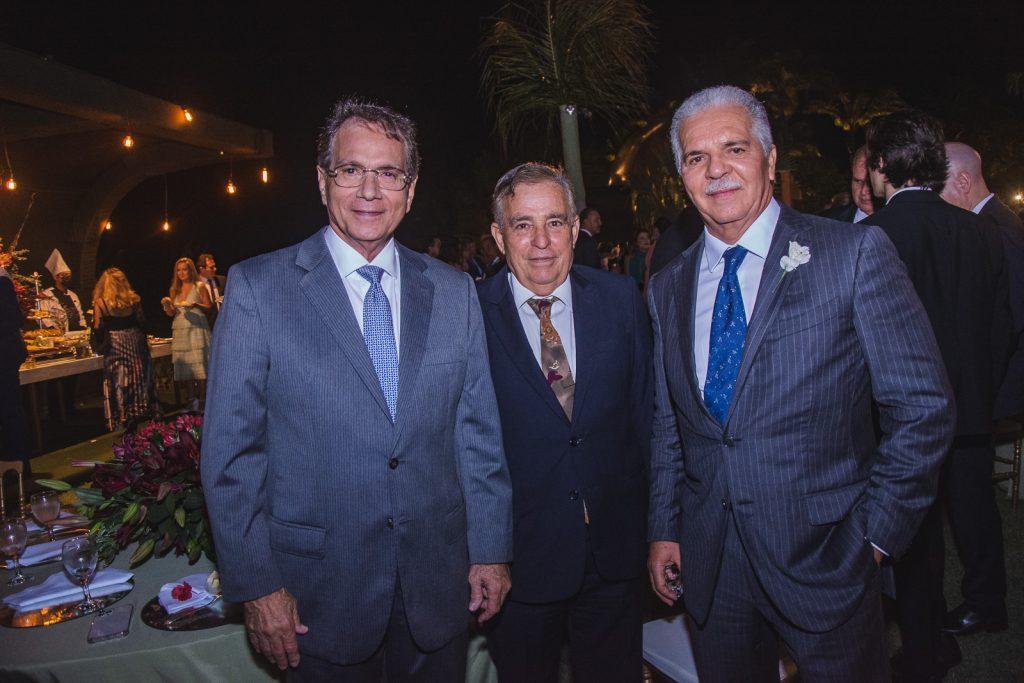 Beto Studart, Claudio Targino E Pio Rodrigues